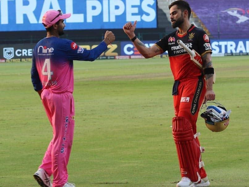 IPL 2020: RR vs RCB Match: De Villiers Shows His Spirit